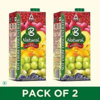 [Pantry] B Natural Mixed Fruit Juice, 1l (Pack of 2)- Amazon