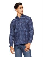 [Size 40] V Dot Men's Casual Shirt- Amazon