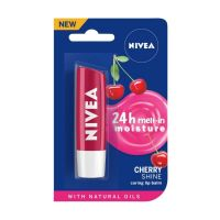 NIVEA Lip Balm, Cherry Shine, 4.8g- Amazon