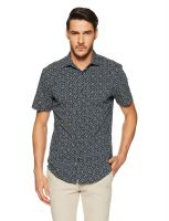 [Size 40] Peter England Perform Men's Printed Polo- Amazon