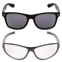 Criba Gradient Aviator Unisex Sunglasses - (pknk+nd wt_CRLK|40|Black Color Lens)- Amazon