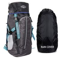 POLE STAR Hike GREYBLK Rucksack with RAIN Cover/Trekking/Hiking BAGPACK/Backpack Bag- Amazon