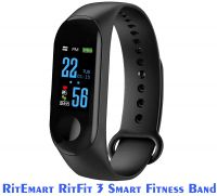 RitEmart RitFit 3 Smart Fitness Watch M3 Band- Amazon
