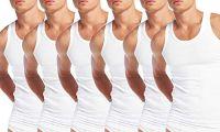 ZOTIC Men's Pure Cotton Vests- Pack of 6- Amazon