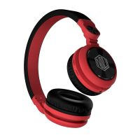 Nu Republic Starboy X-Bass Wireless Headphone with Mic (Red & Black)- Amazon