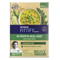 Saffola FITTIFY Gourmet Hi Protein Meal-Soup - 212 g (Italian Mixed Vegetables, 4 Servings)- Amazon