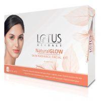 Lotus Herbals Natural Glow Kit Skin Radiance 4 Facial Kit- Amazon