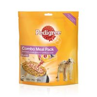 [Pantry] Pedigree Puppy Dog Food Combo Meal, Dry and Gravy, 180g- Amazon