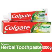 [Pantry] Colgate Toothpaste Herbal - 200 g (Natural)- Amazon