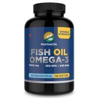 NutrineLife Fish Oil Omega 3 Capsules- Amazon