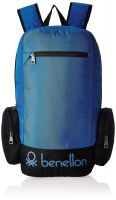 United Colors of Benetton 22 Ltrs Blue Casual Backpack (16A6BAGT7010I)- Amazon