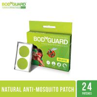 Bodyguard Premium Natural Anti Mosquito Repellent Patches - 20 + 4 Patches- Amazon