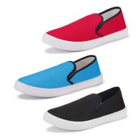 Bersache Men's Multicolor Combo Pack of 3 Shoes Starts from Rs. 248- Amazon
