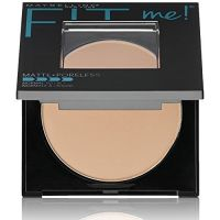 Maybelline New York Fit Me Matte Poreless Powder, 110 Porcelain, 8.5g- Amazon