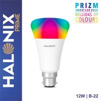 Halonix Prime Prizm Smart 12W Base B22 Wi-Fi LED Bulb, Compatible with Amazon Alexa & Google Assistant- Amazon